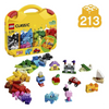 LEGO Classic Creative Suitcase Building Blocks for Kids (213 pcs) - 10713