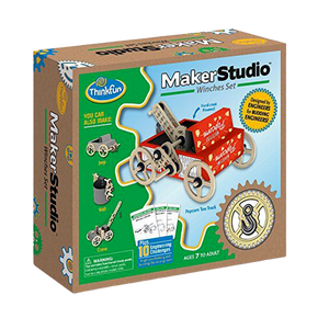 Thinkfun-Maker Studio Winches Set Fun Machine and Engineering Kit- for the age 7 and up