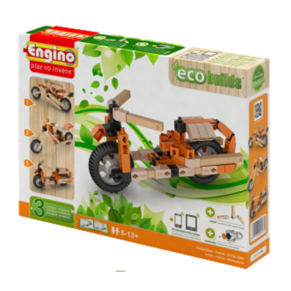 ENGINO 3 IN 1 MOTOR BIKES Engineering set for age 8 and up