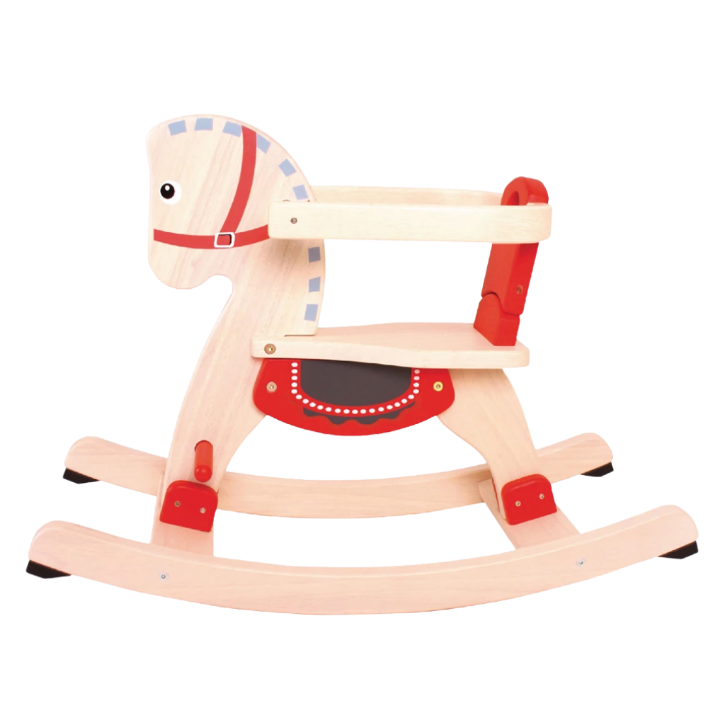 Rocking Horse - Wooden Toy - Age 8 mos+