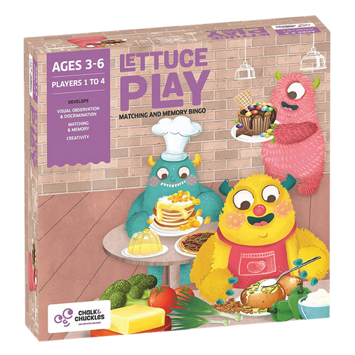 Lettuce Play  - Matching & Memory Bingo - Age 3+