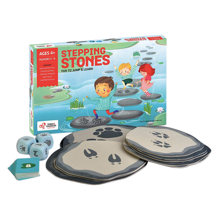 Stepping Stones Fun to Jump and Learn - Age 4+