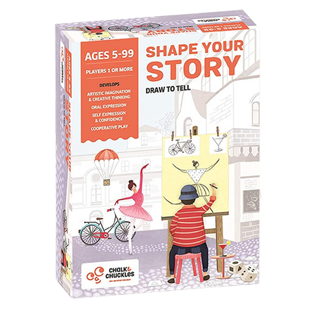 Shape Your Story - Draw to Tell - Age 5+