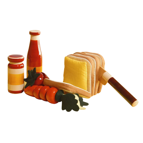 Picnic Set  - Wooden Toy - Age 3+