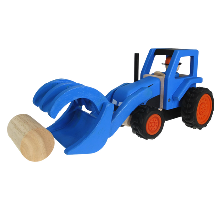 Hay Tractor - Wooden Toy - Age 2+