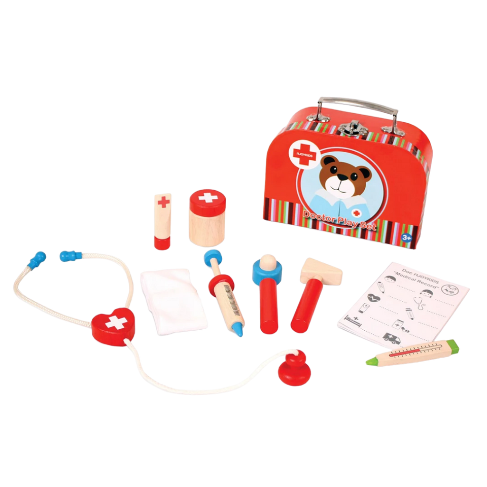 My Doctor Set - Wooden Toy - Age 3+