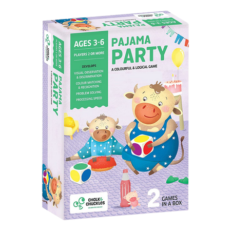 Pajama Party - Colorful Logical Game - Age of 3-6