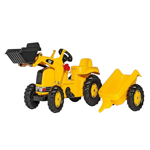Rolly Toys Kid Cat Tractor- Construction Pedal Ride On  for the age  3 and up