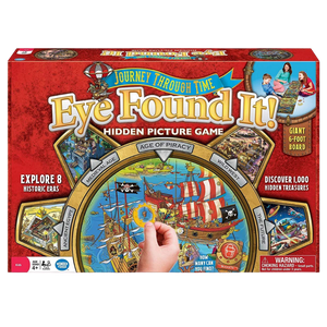 Frog Journey Through Time Eye Found it Group Game for the age 4 and up