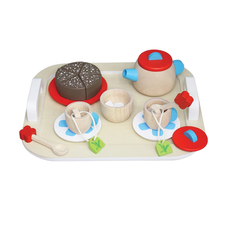 Tea Party Set - Wooden Toy - Age 3+