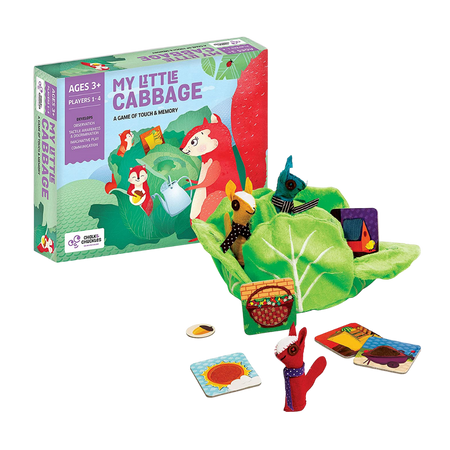 My Little Cabbage  - Sensory Memory Game - Age 3+