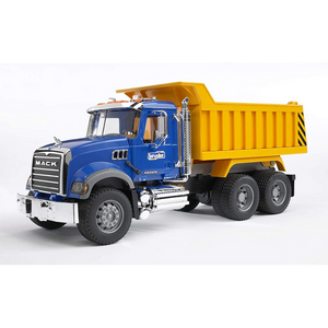 Licensed MACK GRANITE TIP UP TRUCK 1:16 Scale Model for the age 3 and up
