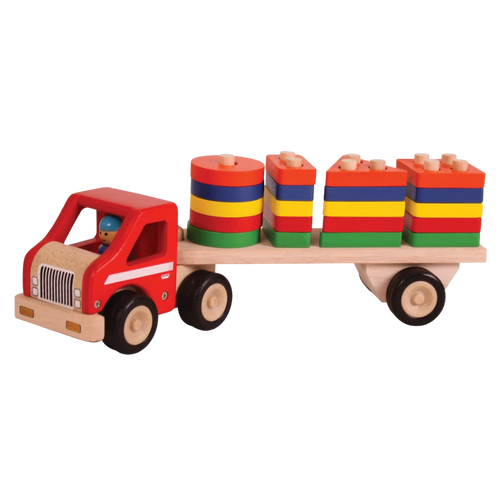 Super Shape Sorting Lorry - Wooden Toy - Age 2+