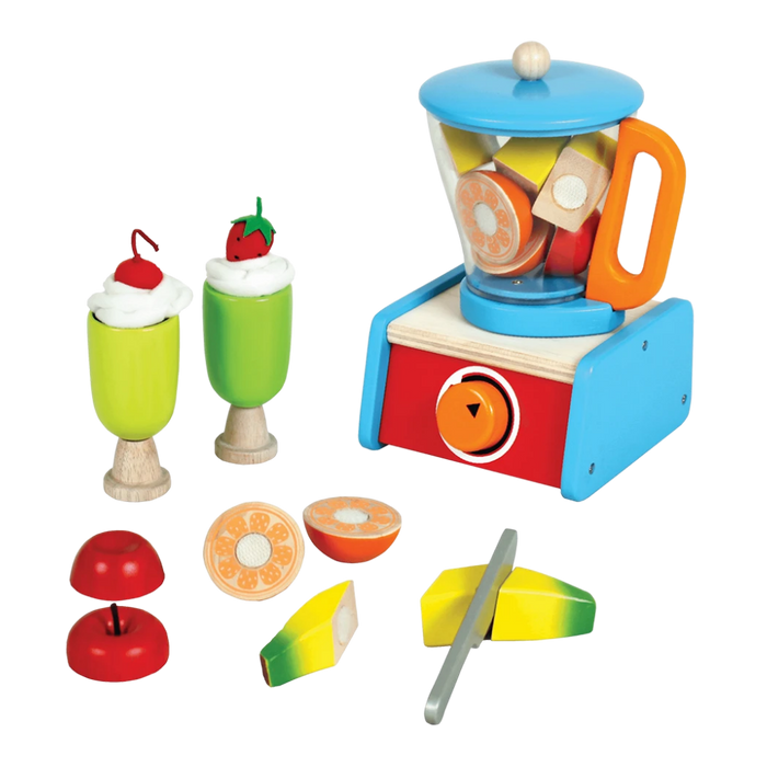 Blender Set with Fruits - Wooden Toy- Age 3+