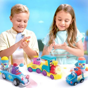 Dough N Go Racer - modeling clay for Girls age 3 and up
