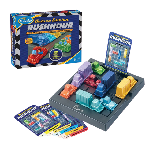 Thinkfun-Rush Hour Deluxe Edition- Perfect Edition for Rush Hour Elitists-for the age 8 and up