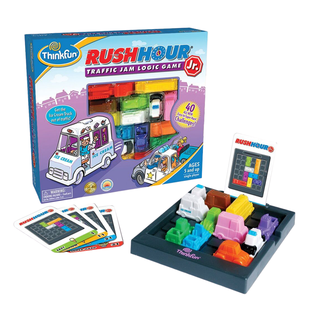Thinkfun-Rush Hour Junior- Traffic Jam Puzzle-for the age 5 and up