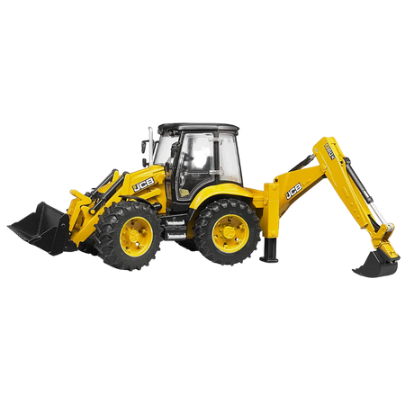 Licensed JCB 5CX Eco Backhoe Loader 1:16 Scale Model for the age 3 and up