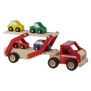 Super Transporter Lorry - Wooden Toy - Age 2+