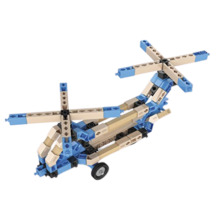 ENGINO 3 IN 1 ECO HELICOPTERS Engineering set for the age 8 and up