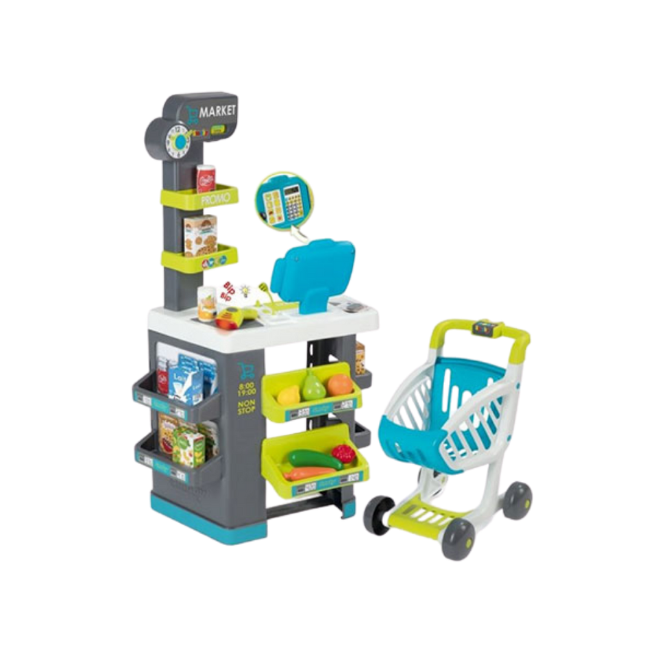 Smoby market- run your own supermarket- for the age 3 and up
