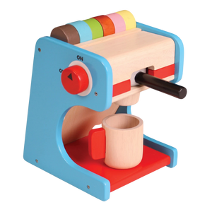 Coffee Maker - Wooden Toy - Age 3 and up