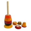 Bibbo clown - Wooden Stacker - Age 1+