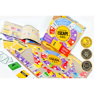 Kitki Escape Evil Chemistry Board Game for the age 8 and up