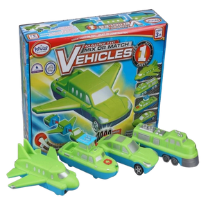 Popular Playthings Mix or Match Vehicles 1 for the age 3 and up