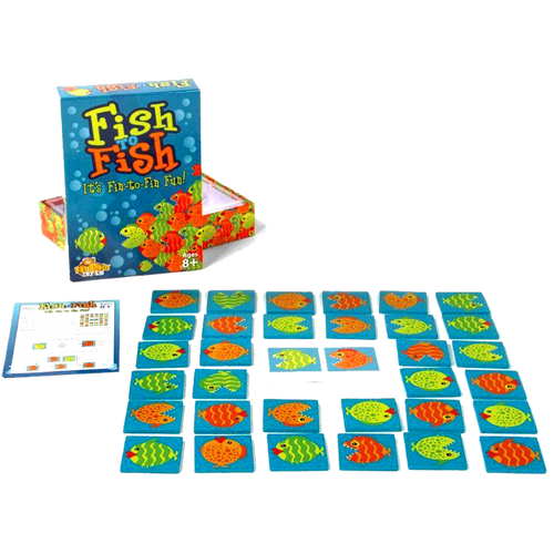 Fat Brain-Fish to Fish Shape Shifting Fish Group Game-for the age 8 and up