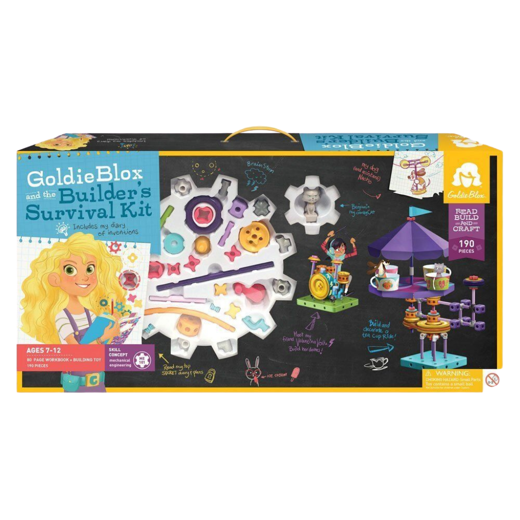 GoldieBlox-The Builders Survival Kit Engineering and Architecture Toy –for the age 7 and up