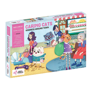 Caring Cats - Kindness Around the Town - Age 6+