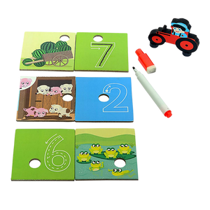 Clever Counting - Numerical Matching Puzzle - Age 3+