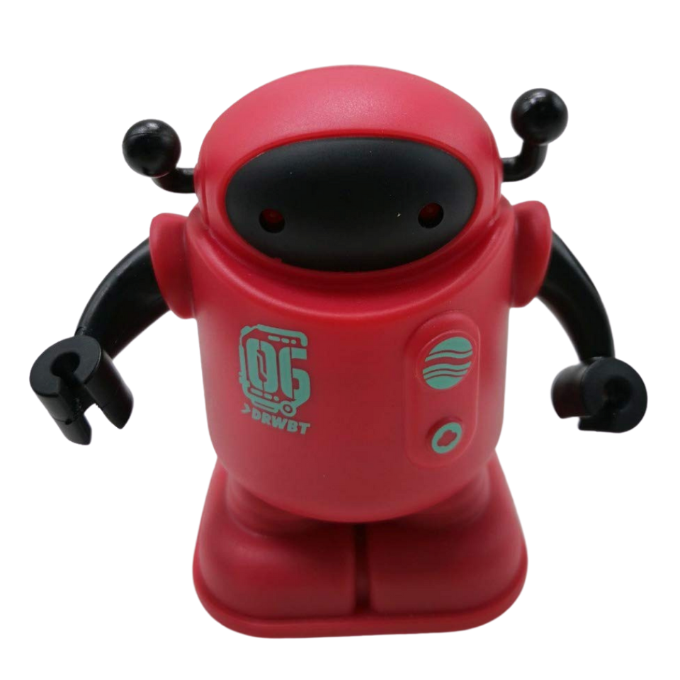 Drawbot Line Tracker Robot Red Color for the age 3 and up