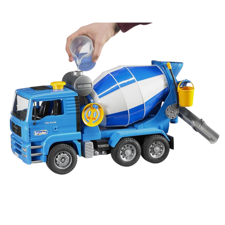 Licensed MAN TGA Cement Mixer 1:16 Scale Model for the age 3 and up