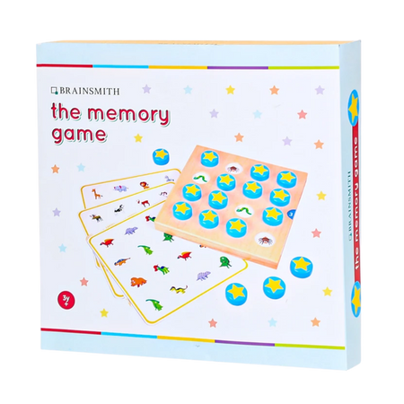 Memory Game - Wooden Toy  - Age 3+