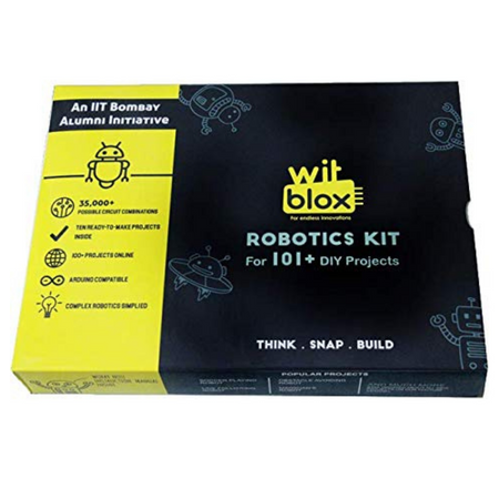WitBlox Mega DIY Robotics Kit for 101 Projects