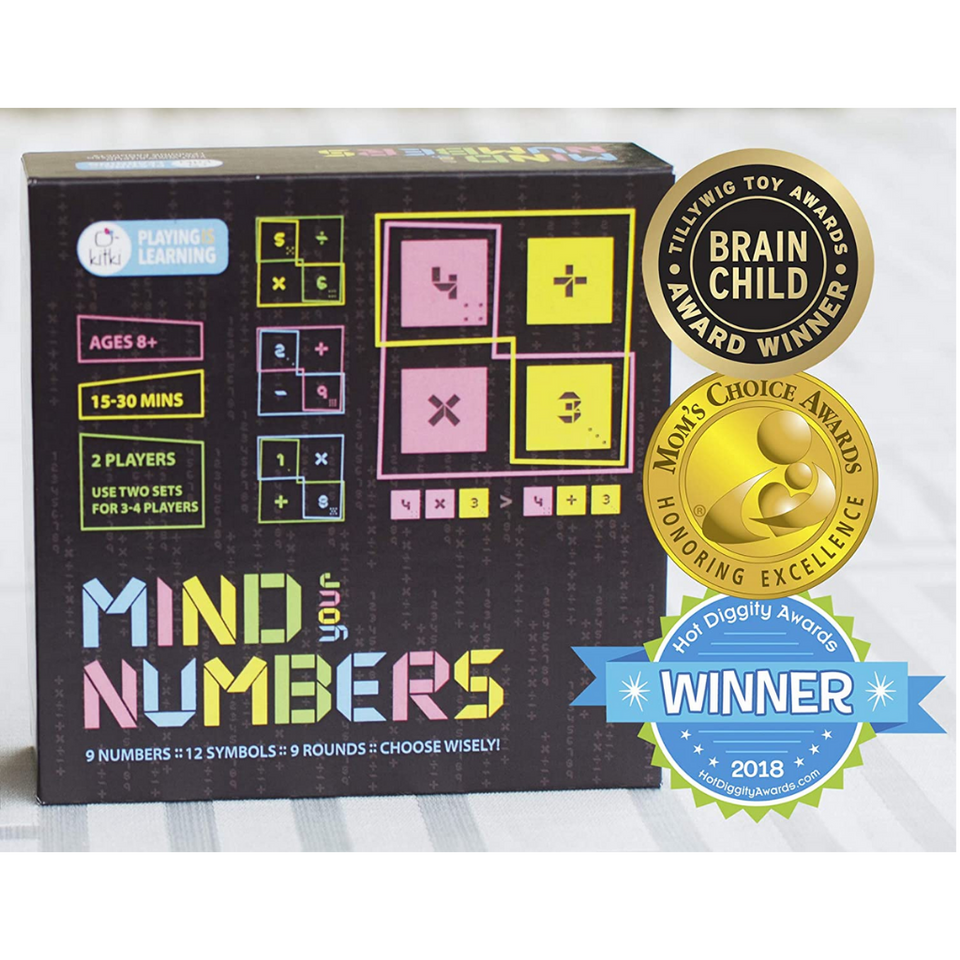 Kitki Mind Your Numbers Math Game Puzzle for the age 8 and up