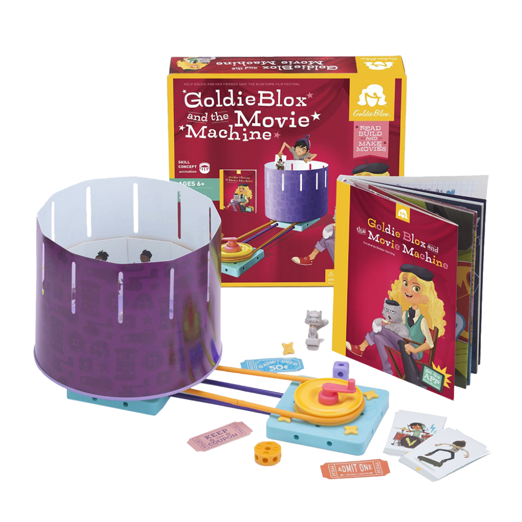 GoldieBlox-The Movie Machine Girl Engineering Construction Toy-for the age 6 and up