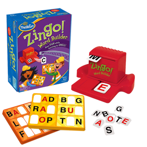Thinkfun-Zingo Word Builder- Spelling Word Game-for the age 5 and up