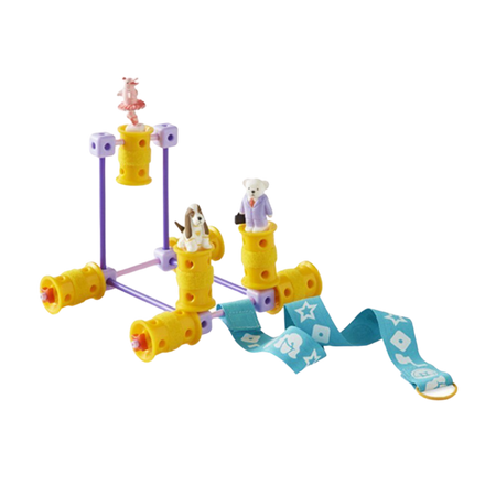 GoldieBlox-The Parade Float Girl Engineering Construction Game-for the age 4 and up