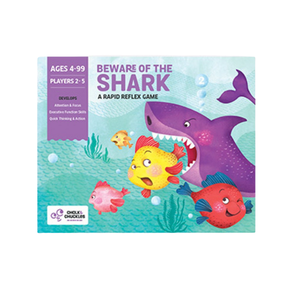 Beware of the Shark - Rapid Reflex Game - Age 4+