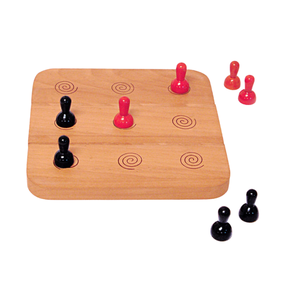Six Men Morris  - Abstract Strategy Game - Age 5+