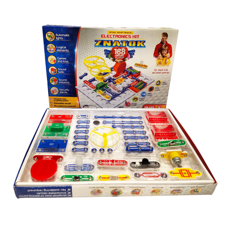 Electronics Kit 188 Circuits - Age 8+