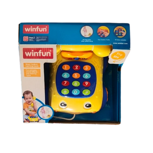Winfun Talk N Pull Phone for the age 12 months and up