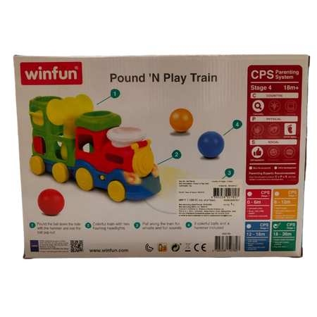 Winfun Pound N Play Train for the age 18 months +