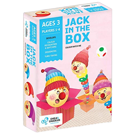 Jack In the Box - Color Matching Game - Age 3+