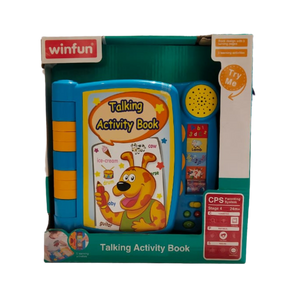 Winfun Talking Activity Book for 12 months and up