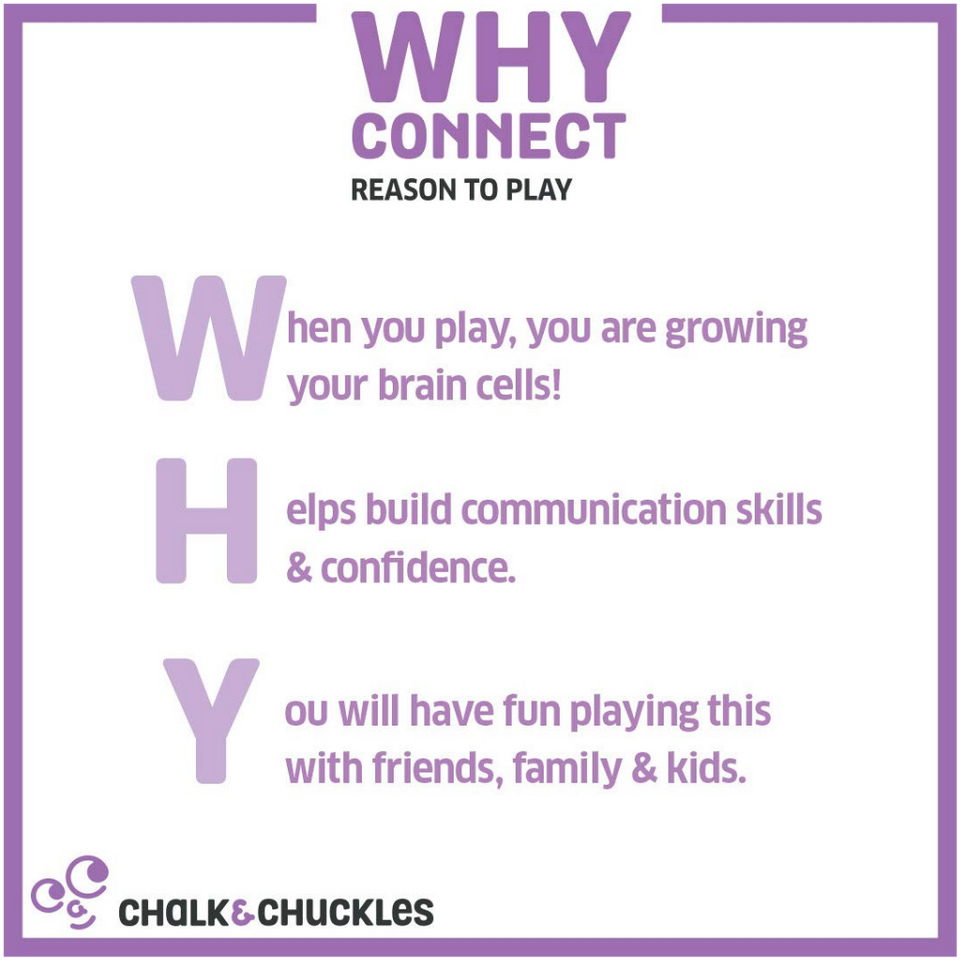Why Connect - Reasoning Game - Age 6+