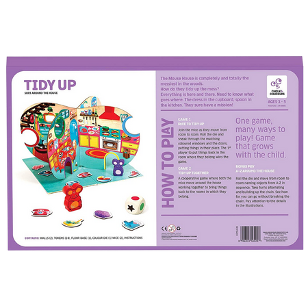 Tidy Up  - Sort Around the House - Age of 3-5